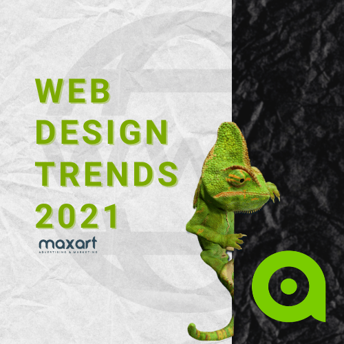Unique Web Design Trends in 2021