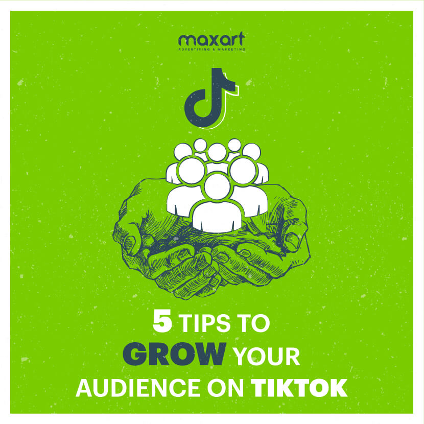 5 Tips To Grow Your Audience on TikTok